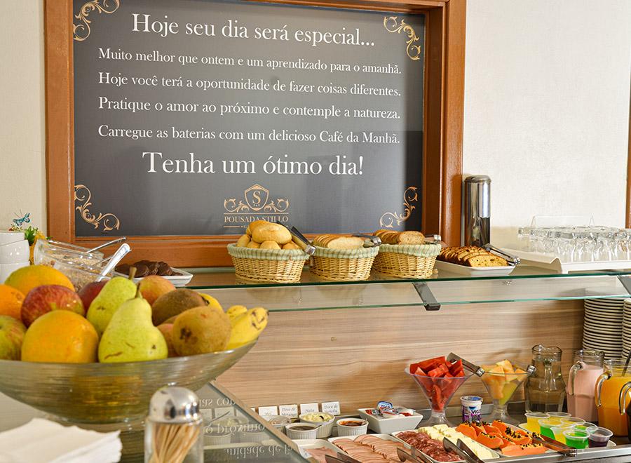 Café da Manhã em Gramado