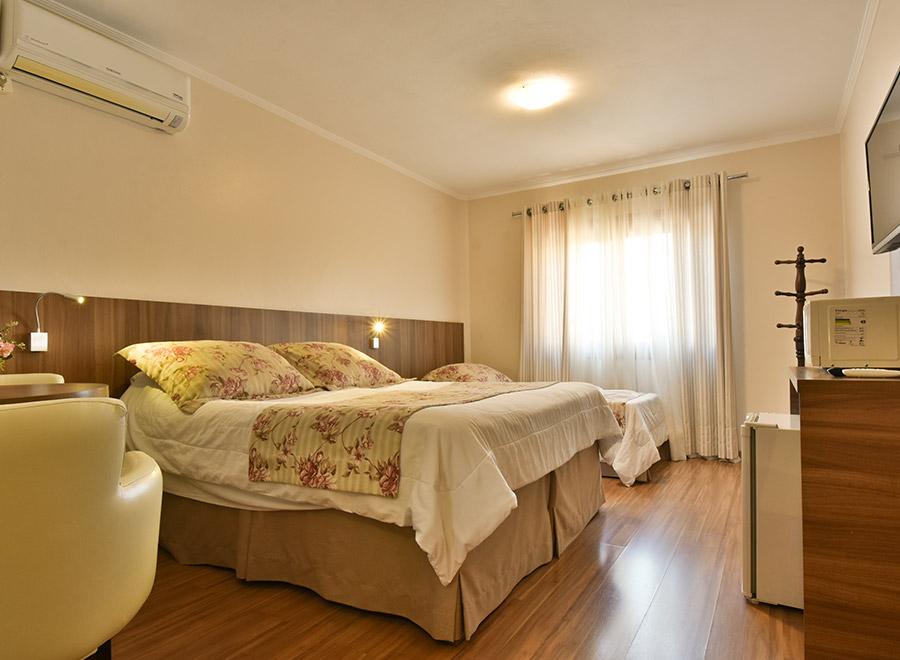 Apartamento Triplo no Centro de Gramado