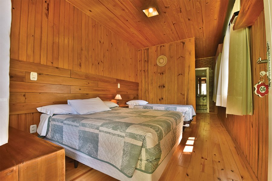 Apartamento para 3 pessoas no interior de Gramado